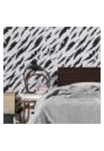 Papel De Parede Adesivo Abstrato Artístico N02278 Rl 0,58X3M