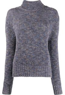 Aragona Knitted Cashmere Jumper - Azul