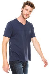 Camiseta Guess Reta Azul