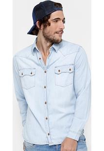 Camisa Dardak Indigo Masculina - Masculino