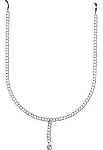 Linda Farrow Lflchain3C3 White Gold Large Chain - Prateado