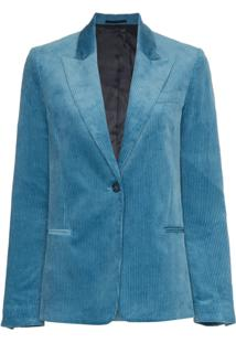 Golden Goose Deluxe Brand Blazer Cotelê - Azul