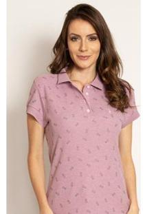 Camisa Polo Aleatory Piquet Fine Feminina - Feminino