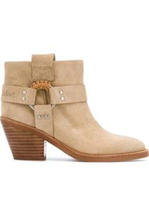 See By Chloé Ankle Boot Edie - Neutro
