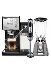 Kit Cafeteira Primalatte - Liquidificador Osterizer E Mixer Oster - 127V