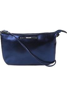 Bolsa Anacapri Crossbody Básica Feminina - Feminino-Azul