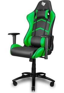 Cadeira Gamer Pichau Donek - Unissex-Preto+Verde