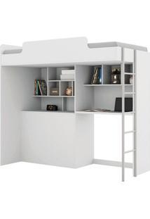 Cama De Solteiro Office New – Santos Andirá - Branco