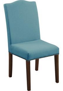 Cadeira De Jantar Silvia Linho Verde