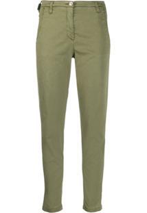 Jacob Cohen Slim Fit Trousers - Verde