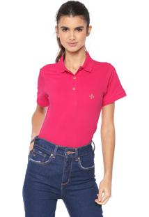1f5970560f289 Camisa Pólo Ombro Rosa feminina   Gostei e agora
