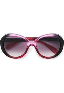 Gucci Eyewear Óculos De Sol Degradê - Rosa