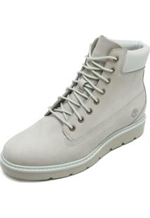Bota Couro Timberland Kenniston 6In Lace Up Cinza