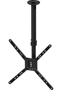 Suporte De Teto Para Tv Avatron Slf-730Ttg-B 10 À 55 Pol Preto