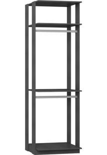 Estante Cabideiro - Espresso- 220X70X44,5Cmbentec