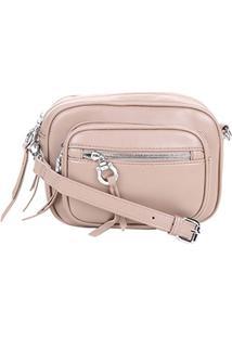 Bolsa Santa Lolla Mini Bag Feminina - Feminino-Nude