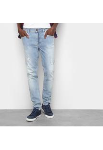 Calça Jeans Skinny Cavalera Tadeu Masculina - Masculino-Jeans