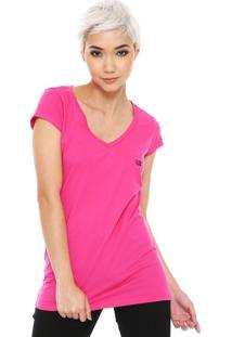 Camiseta Ellus 2Nd Floor Básica Rosa