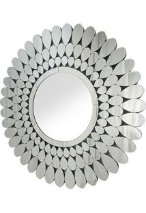 Espelho Ballo- Espelhado & Prateado- Ø100X1,6Cmrivatti