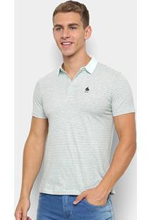 Camisa Polo Nyc - Norwich Yatch Club Listrada Masculina - Masculino-Verde