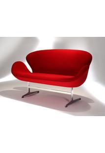 Sofá Swan 2 Lugares Studio Mais Design By Arne Jacobsen
