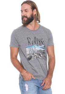 Camiseta Colcci Relax Cinza