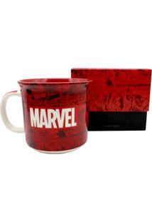 Caneca Em Cerâmica Tom Marvel 350 Ml