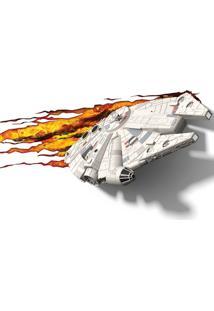Luminaria Millennium Falcon 3D Plastico