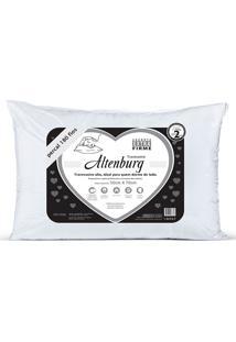 Travesseiro Percal 180 Fios 50X70 - Altenburg - Branco