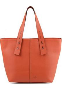 Bolsa Shopping Bag Helô Laranja - Laranja/Un
