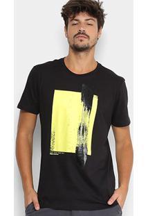 Camiseta Manga Curta Forum Estampada Masculina - Masculino