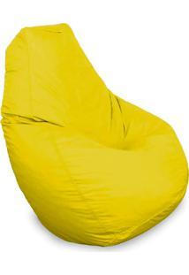 Puff Gota Em Courino-Phoenix Puff - Amarelo