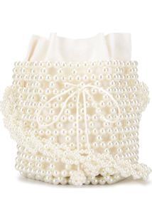 0711 Bolsa Bucket Bibi - Branco