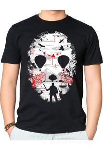 Camiseta Lago De Cristal Geek10 - Preto