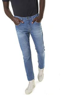 Calça Jeans Calvin Klein Jeans Slim Lavagem Azul