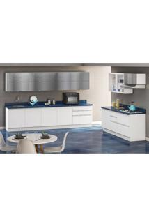 Cozinha Completa Bbb 17 Pt 8 Gv Branca E Azul