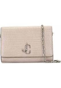 Jimmy Choo Clutch Varrene - Cinza