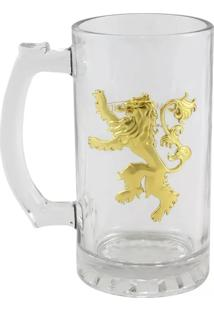Caneca Emblema Lannister Geek10 Branco