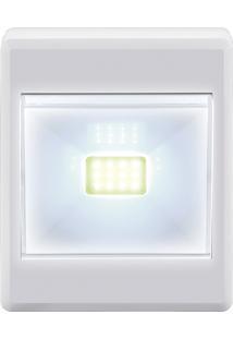 Luminaria Mini Led Botão 3W Branca