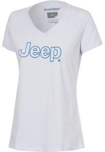 617a8b2994 Netshoes. Camiseta Jeep Clássica - Feminina ...