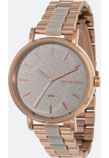 Relógio Feminino Mondaine 53836Lpmvrf2 Analógico 5Atm