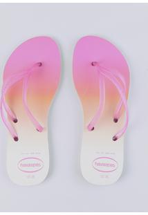 Chinelo Havaianas Feminino Degradê Pink