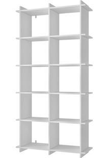 Livreiro Encaixe Bx 01-06 Branco Brv Móveis