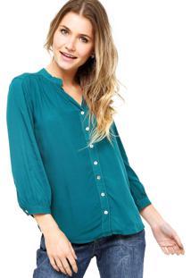 Camisa Manga Longa Enfim Verde