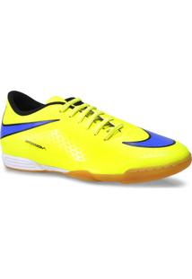 Tenis Masc Nike 599810-758 Hypervenom Phade Ic Amarelo Limao/Roxo