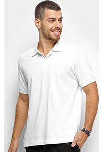 Camisa Polo Zoomp Pima Cotton Masculina - Masculino-Branco