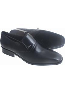 Sapato Social Sândalo Bourbon Masculino - Masculino-Preto