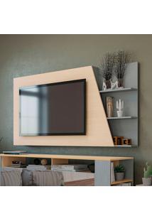 "Painel Para Tv De Até 65"" Po422 – Kappesberg Pop - Pine / Cinza"