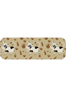 Passadeira Cow Cute Único Love Decor