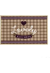Tapete Cleankasa 50X160Cm Gourmet Love Kapazi